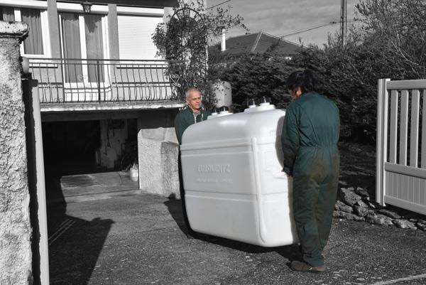 Installation de cuve