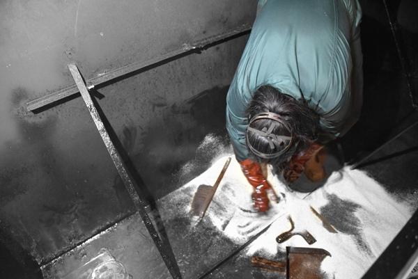 Nettoyage de cuve